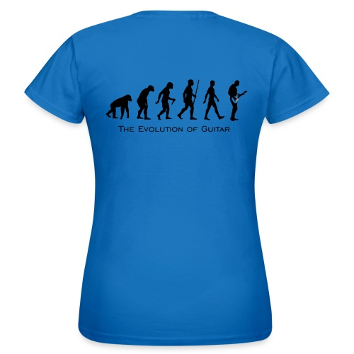 The Evolution Of Guitar - Camiseta mujer