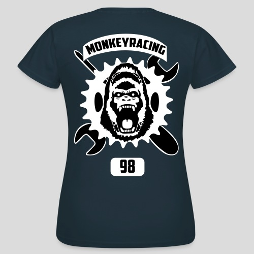 Monkey Racing98 Emblem - Frauen T-Shirt