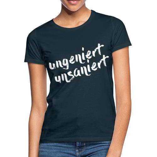 JFS_Claim_weiss - Frauen T-Shirt