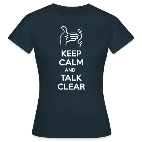 KEEP-CALM - Camiseta mujer