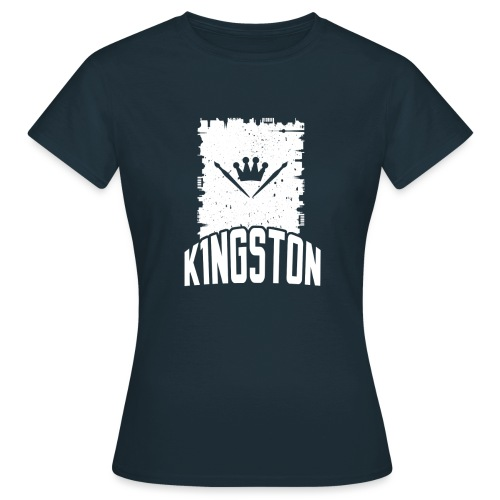k1ngston_2015_blue - Frauen T-Shirt