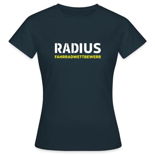 RADIUS Fahrradwettbewerb - Frauen T-Shirt