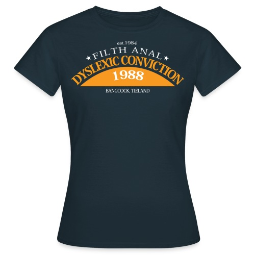 dyslexicplot nt - Vrouwen T-shirt