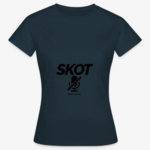 SKOT - Silence Your Mic - Vrouwen T-shirt