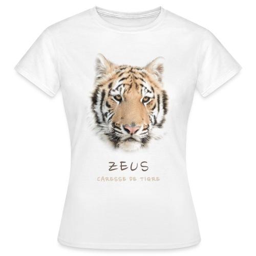 Zeus portrait - T-shirt Femme