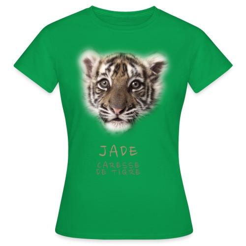 Jade bébé portrait - T-shirt Femme