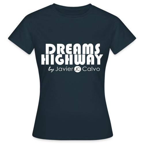 logo dreams camiseta png - Camiseta mujer
