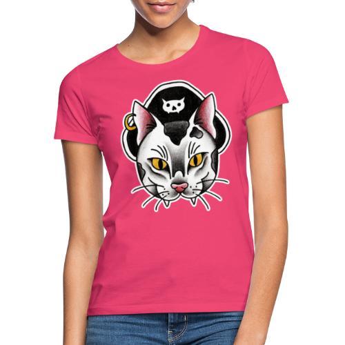 Piratecat - Maglietta da donna