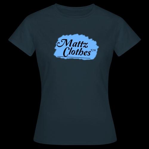 Mattz logo - T-shirt dam