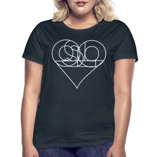oslohjertehvittomriss - T-skjorte for kvinner