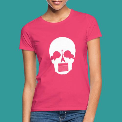 Guitar Skull - Women's T-Shirt