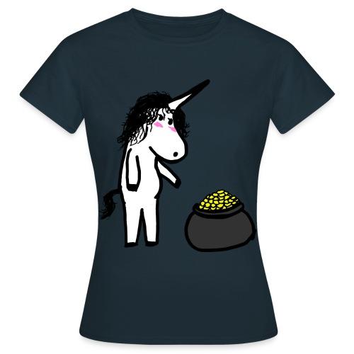 Oro unicorno - Maglietta da donna