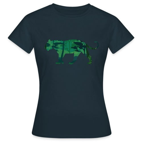 Tiger in the jungle... - T-shirt Femme
