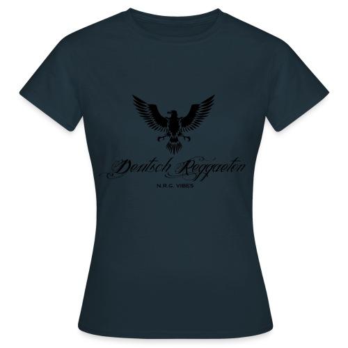 Adler Deutschreggaeton black - Frauen T-Shirt