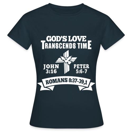 God's love white - Women's T-Shirt