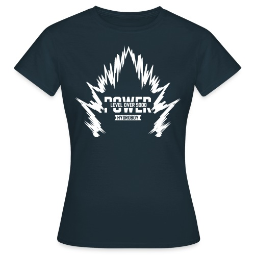 power9000wit png - Vrouwen T-shirt