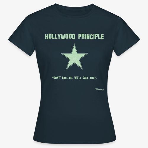 hollywood principle verde gif - Women's T-Shirt