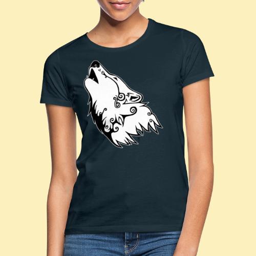 Le Loup de Neved (version contour blanc) - T-shirt Femme