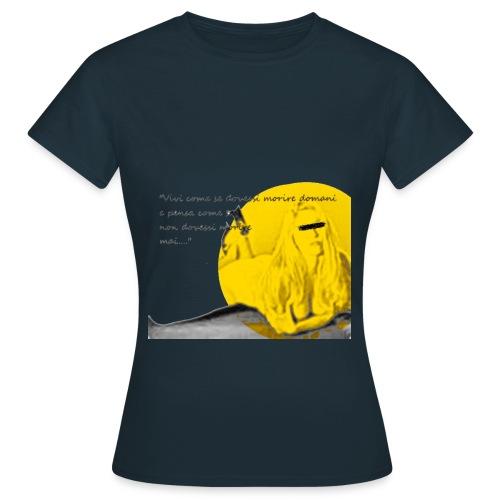 moana giallo definitivo png - Maglietta da donna