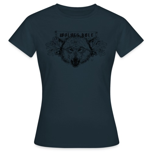 wolves-rule - Women's T-Shirt