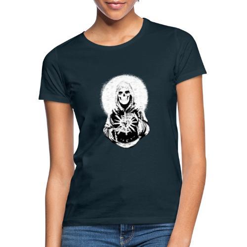 ✦ Halo blanco de la Santa Muerte ✦ - Frauen T-Shirt