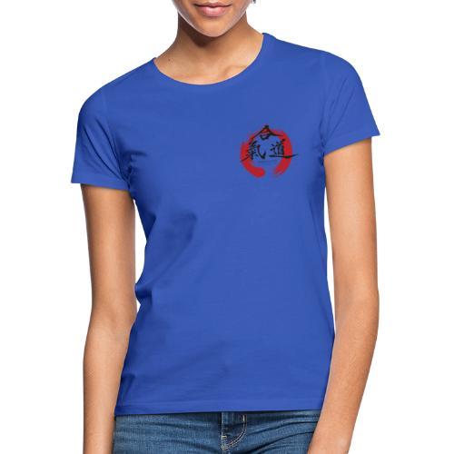 KAK logo black ink - Dame-T-shirt