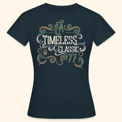 TIMELESS png - Dame-T-shirt