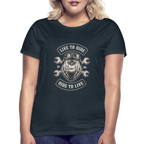LTR Bear Dark - T-shirt Femme