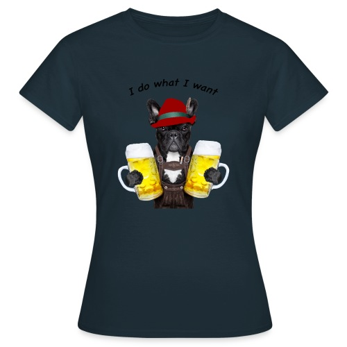 FrenchBulldog Barman - T-shirt Femme