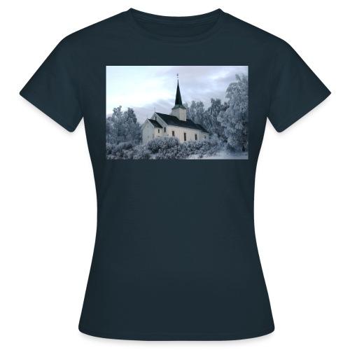 holter kirke - T-skjorte for kvinner