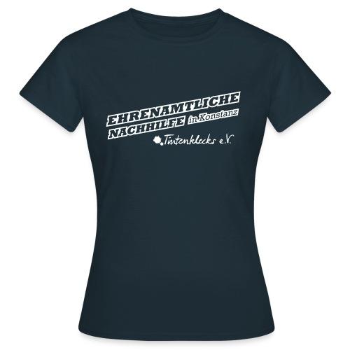 Tintenklecks_Logo_komplett - Frauen T-Shirt
