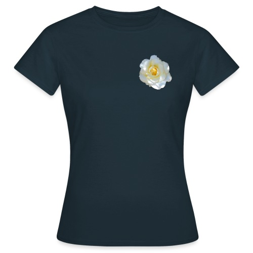 A white rose - Women's T-Shirt
