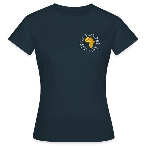 Africa circle - chest - Frauen T-Shirt