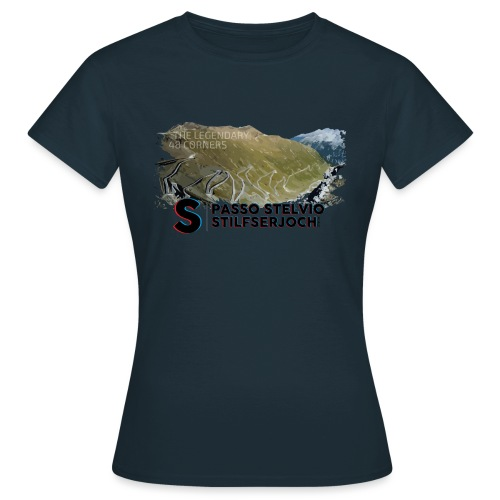 48 Haarnadelkurven - Frauen T-Shirt