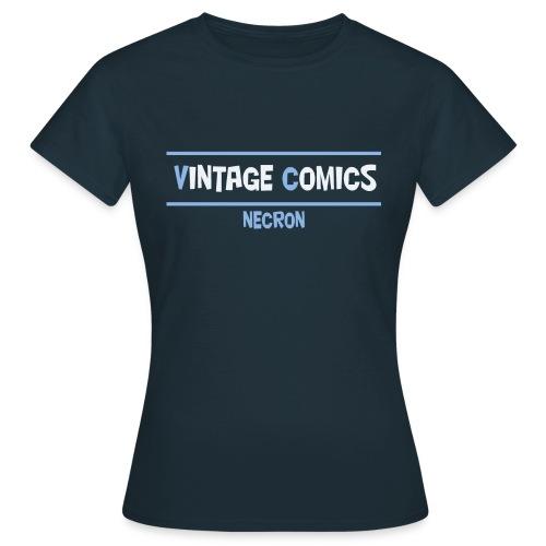 logo maglietta necron - Maglietta da donna
