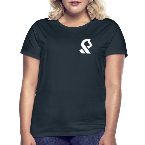 Offerspill Hvit Logo - T-skjorte for kvinner
