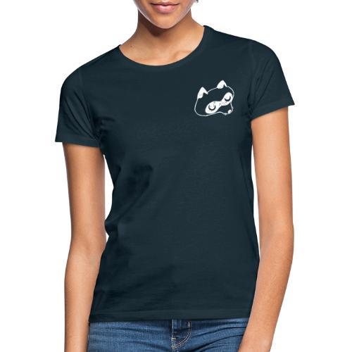 Waschbär weiß - Frauen T-Shirt