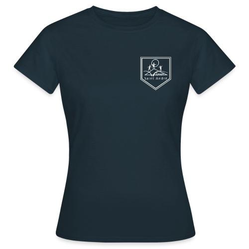 Blason blanc - T-shirt Femme