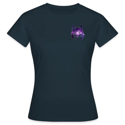 Galaxy wolf - T-shirt Femme
