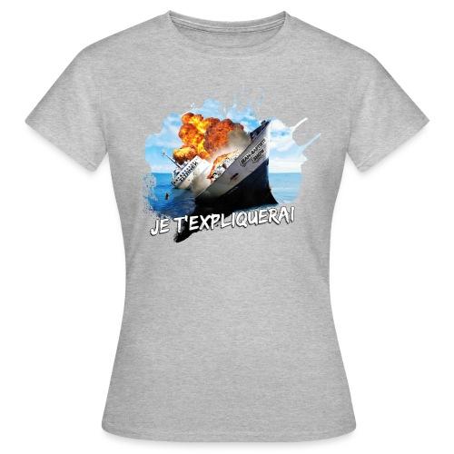 Ship 1 - T-shirt Femme