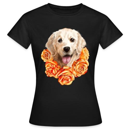Golden retriever - Dame-T-shirt