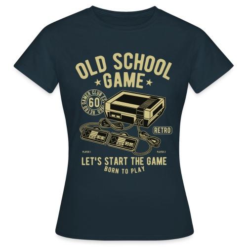 T-Shirt Jeux videos Vintage - T-shirt Femme
