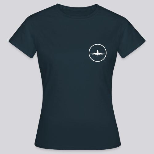 IVAO (symbole blanc) - T-shirt Femme