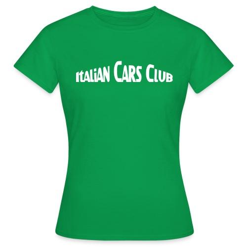 italiancarsclub - T-shirt Femme