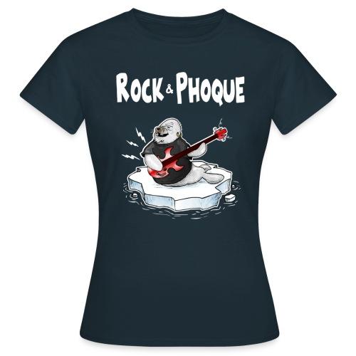 Rock Phoque - T-shirt Femme