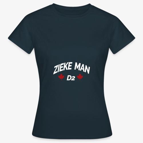 Zieke Man 'Quote By 3robi' - Vrouwen T-shirt