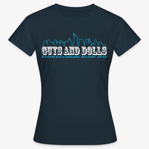 t-shirt1-blue-full-skylin - Women's T-Shirt