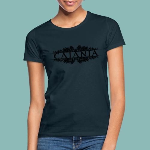 Caiania-logo musta - Naisten t-paita