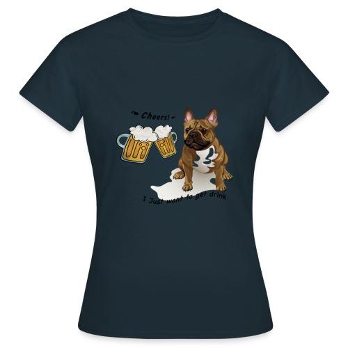 FrenchBulldog Merrymaker - T-shirt Femme