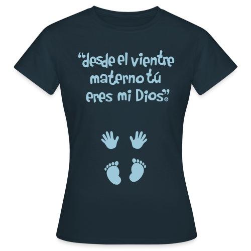 mano vec2 spread3 logo - Camiseta mujer